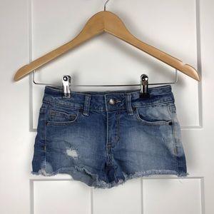 Joe's Jeans girl's 8 distressed Jean shorts